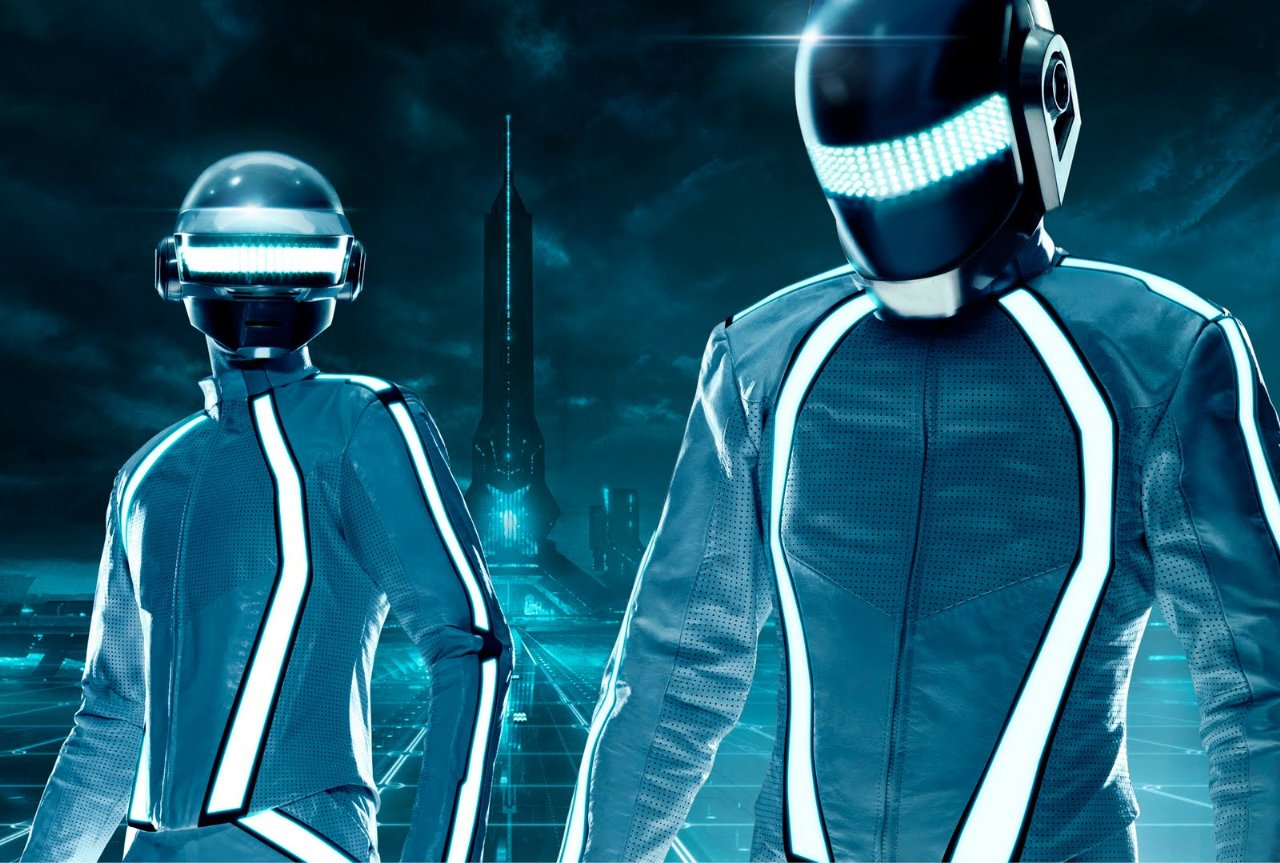 daft punk tron Update: Daft Punk really arent The Third Twin
