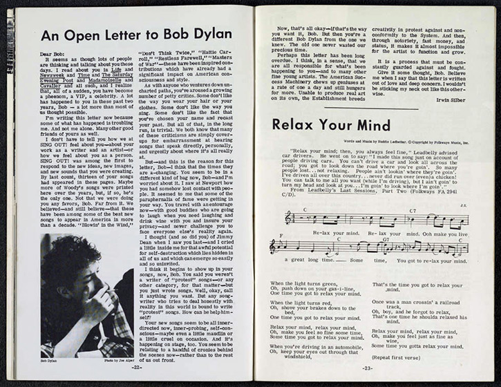 anopen letter Another Side of Bob Dylan Turns 50