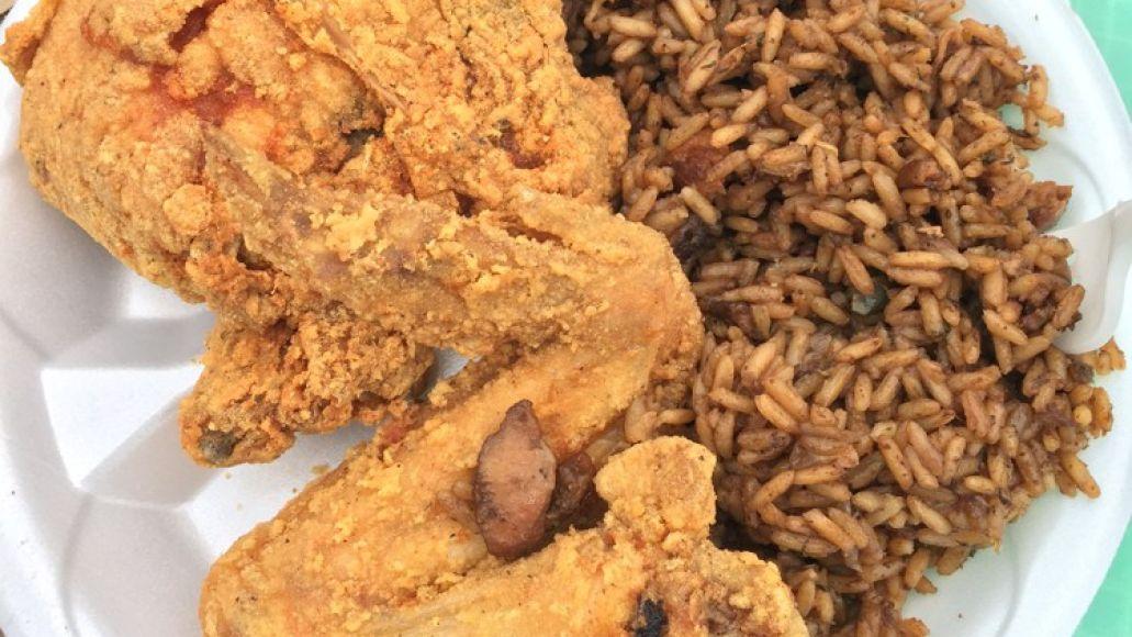 Fried Chicken and Jambalaya