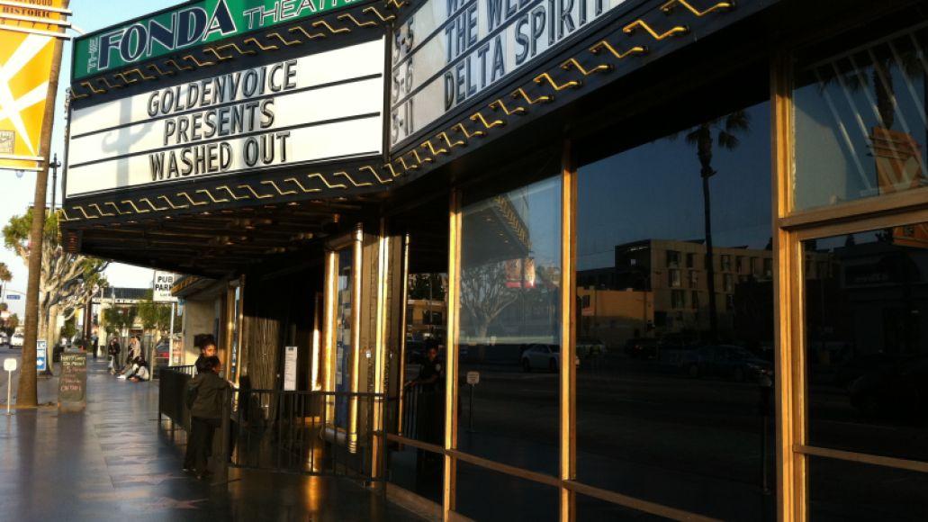 The Fonda Theatre Los Angeles, CA