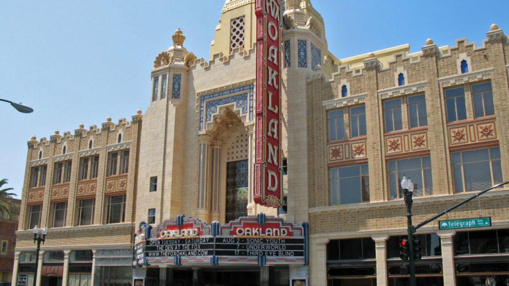 Fox Oakland Theater, 1807 Telegraph Ave, Oakland, CA
