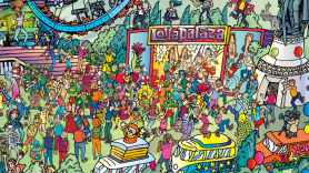 Lolla Where's Waldo