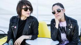 Tegan and Sara, photo by Philip Cosores