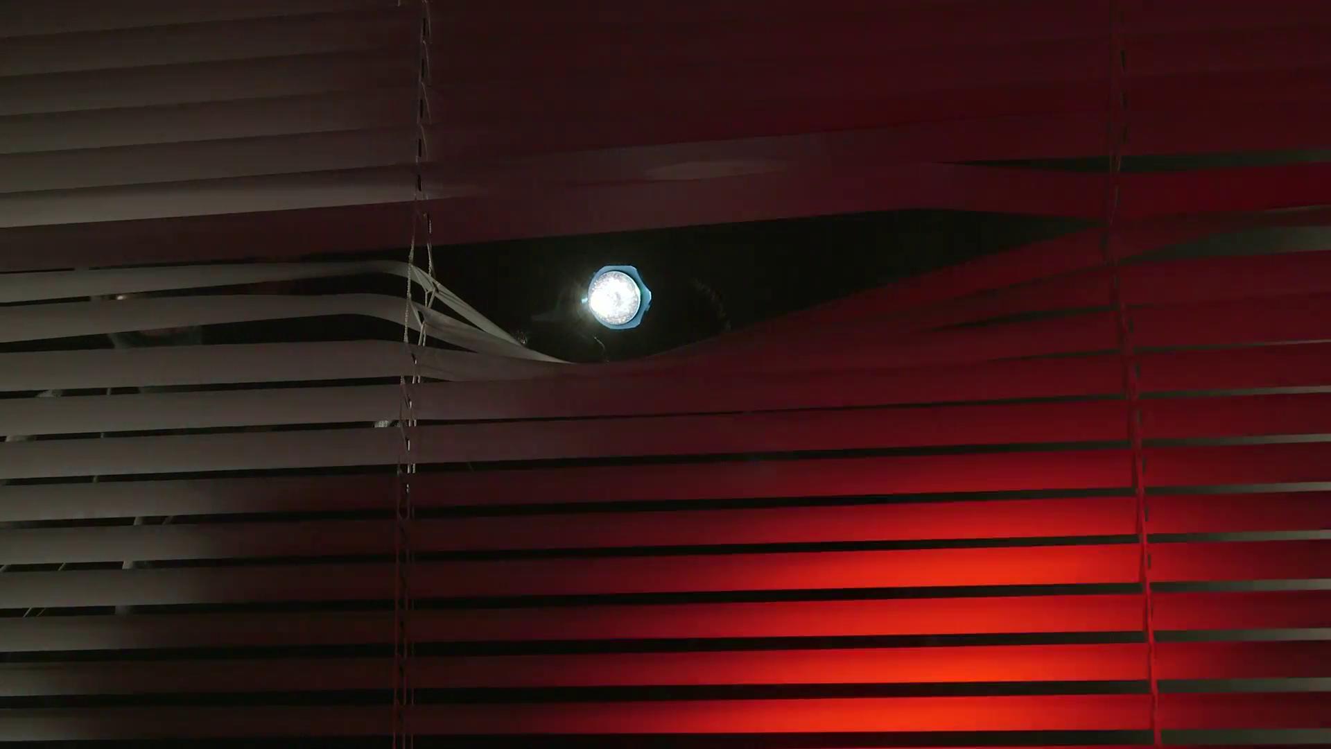 crime scene investigation at night person in black balaclava with flashlight looking through a window ectvyxwtx  f0009 SUSTO get their revenge on a tire slashing creep on new track Drug Money: Stream