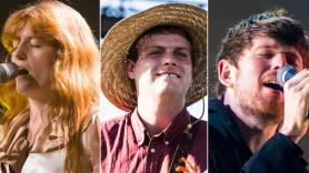 Florence and the Machine (Erica Tra), Mac DeMarco (Philip Cosores), James Blake (David Brendan Hall)
