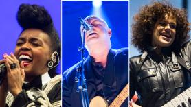Janelle Monáe (Philip Cosores), Pixies (David Brendan Hall), Arcade Fire (Cosores)