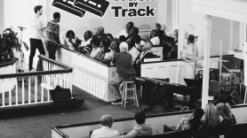 Gimlet Media Uncivil Soundtrack Recording Session