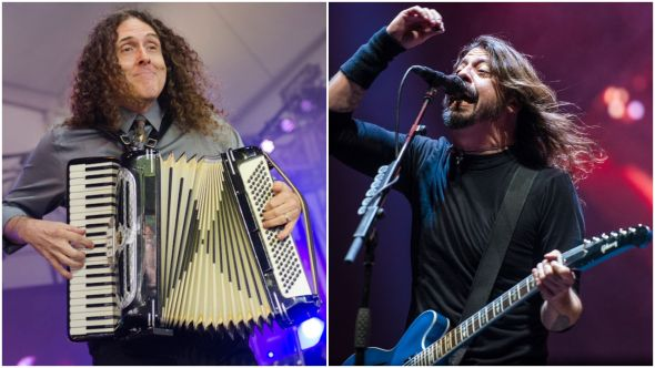 weird al and foo fighters