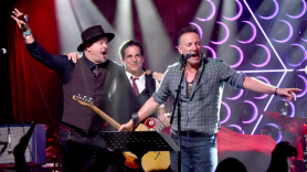 Bruce Springsteen Opens Asbury Lanes Danny Clinch Tangiers Blues Band bowling