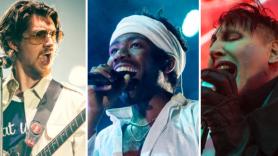 Arctic Monkeys (Kimberley Ross), Childish Gambino (Ben Kaye), Marilyn Manson (Philip Cosores)