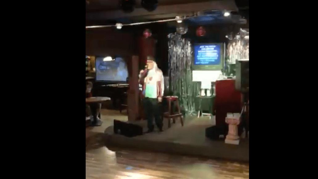 J Mascis sings Tom Petty at karaoke bar