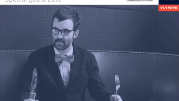Kyle Meredith with Eels