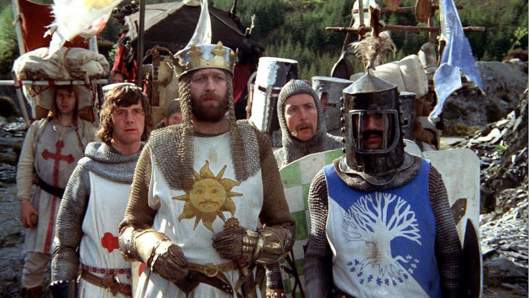 monty python and the holy grail lost sketches archive