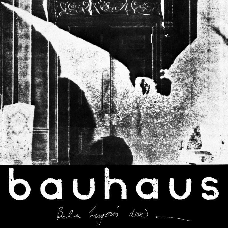 Bauhaus The Bela Session album remaster artwork