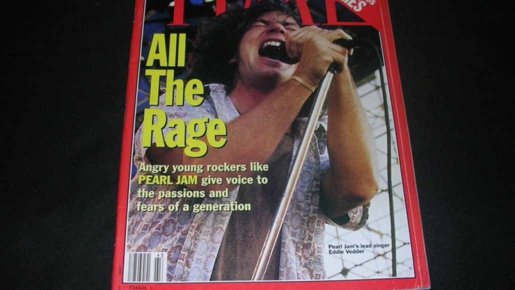 TIME Magazine Pearl Jam cover