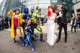 Wolverine X-23 Jubilee Beast X-Men Jean Grey Cyclops New York Comic Con 2018 Ben Kaye-132