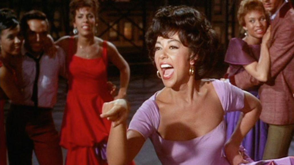 Rita Moreno in original West Side Story (1959)