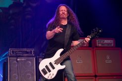 Exodus' Jack Gibson performs with Metal Allegiance