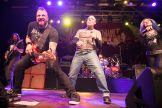 John Bush perform with Metal Allegiance