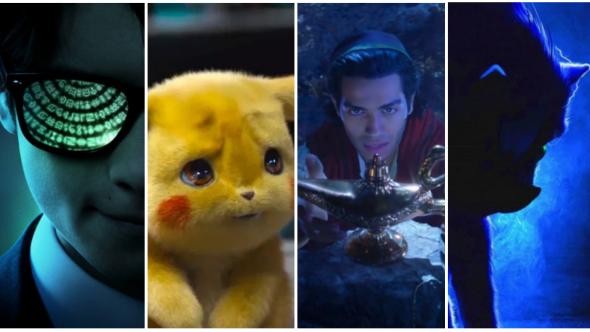 Artemis Fowl, Detective Pikachu, Aladdin, Sonic the Hedgehog