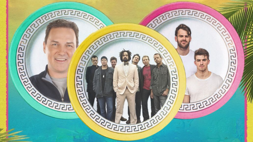 KAABOO Cayman Norm MacDonald, Counting Crows, and The Chainsmokers