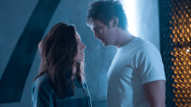 Legion Finale Dan Stevens Aubrey Plaza Chapter 19 blue white Legion Finale final season three canceled FX