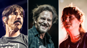 Red Hot Chili Peppers (Philip Cosores), Eddie Vedder (Chris Hill), The Strokes (Carlo Cavaluzzi)