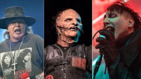Guns N' Roses, Slipknot (David Brendan Hall), Marilyn Manson (Philip Cosores)