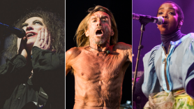 The Cure (Debi Del Grande), Iggy Pop (Philip Cosores), Lauryn Hill (Cosores)