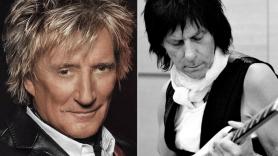 Rod Stewart and Jeff Beck Group reunion Hollywood Bowl September