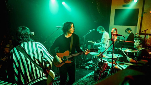 """The Raconteurs """"Hey Gyp"""" cover song release stream new rock music jack white"""