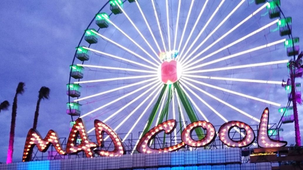 Mad Cool Ferris Wheel