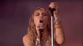 Miley Cyrus at Glastonbury 2019
