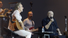 Phil Collins and Mike Rutherford of Genesis