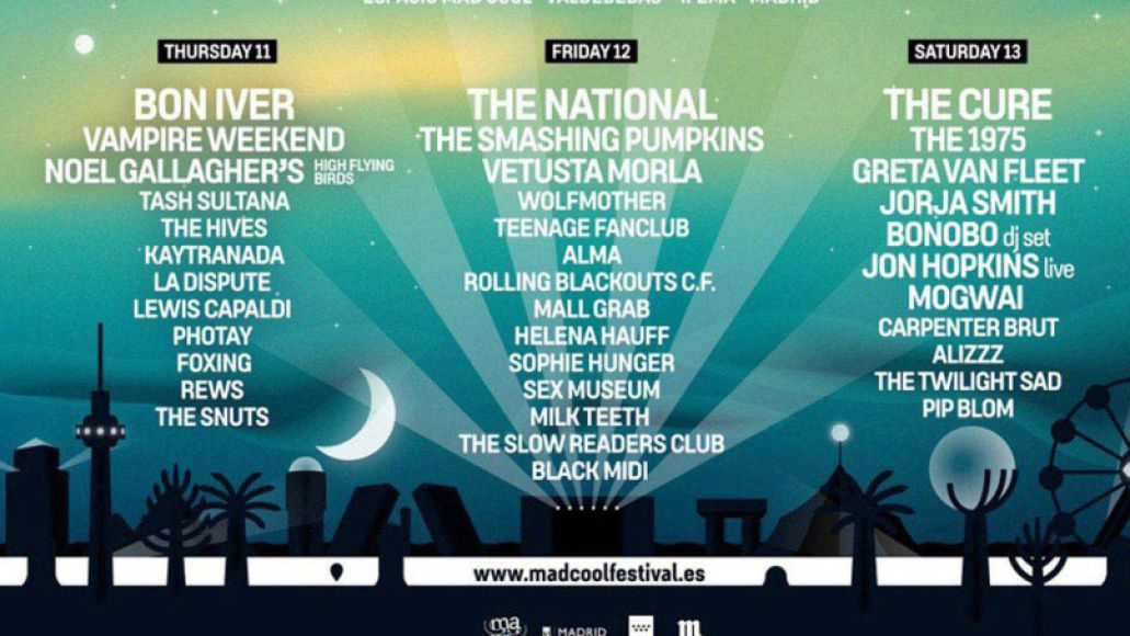 mad cool 2019 new copy An Americans Travel Guide to Spains Mad Cool Festival 2019