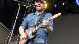 Frightened Rabbit's Scott Hutchison, photo by Ben Kaye tiny changes a celebration of a midnight organ fight