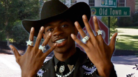 Old Town Road Street Sign Wellesley Massachusetts Lil Nas X