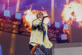 Meek Mill at Lollapalooza 2019, photo by Nick Langlois