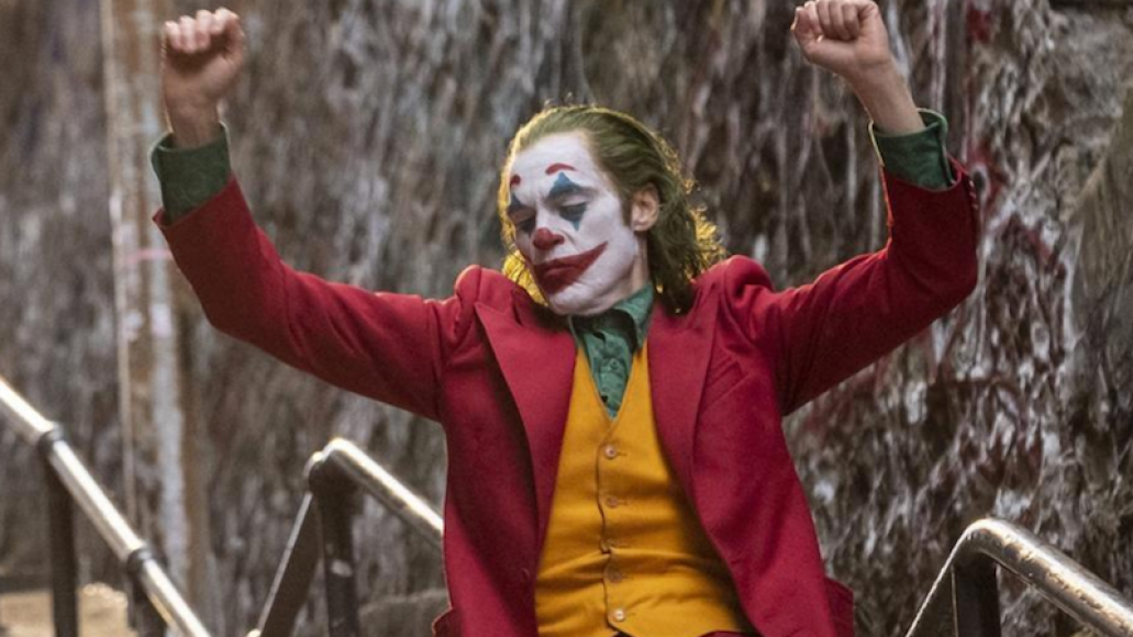Joker Joaquin Phoenix evolution laugh Todd Phillips