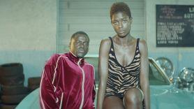 Jodie Turner-Smith and Daniel Kaluuya in Queen & Slim