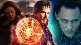 Doctor Strange Loki Scarlett Witch WandaVision Disney+ Marvel Cinematic Universe