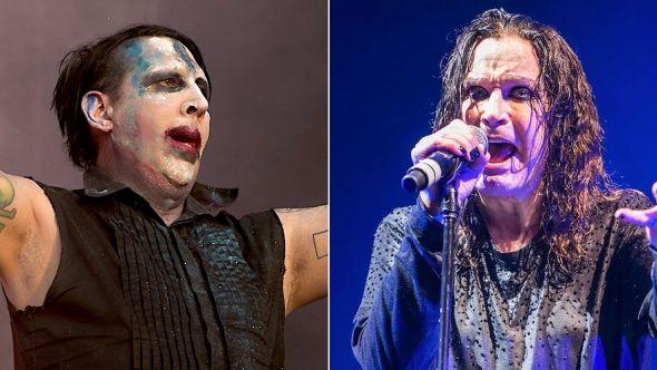 Marilyn Manson to support Ozzy Osbourne