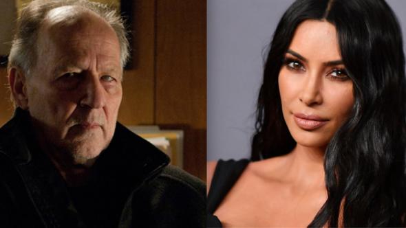 Keeping Up With the Kardashians WrestleMania watches TV Werner Herzog and Kim Kardashian-West