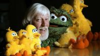 Caroll Spinney, photo by Robert Deutsch and USA TODAY
