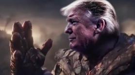 Trump as Thanos, MCU Jim Starlin edited video Avengers Endgame