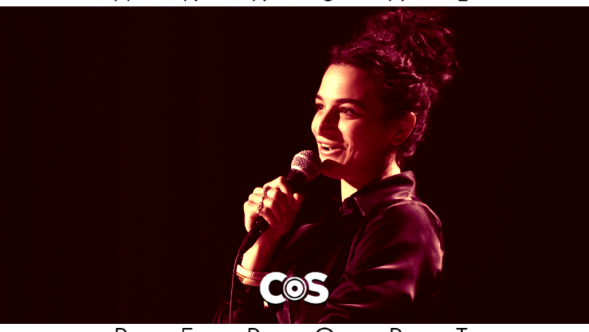 Comedian of the Year Jenny Slate