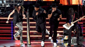 Aerosmith Run-DMC grammys walk this way