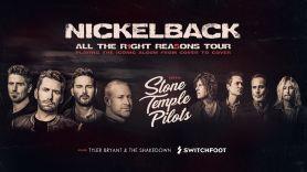 Nickelback Stone Temple Pilots tour 2020