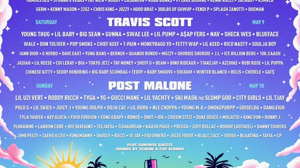 Rolling Loud 2020 Miami lineup