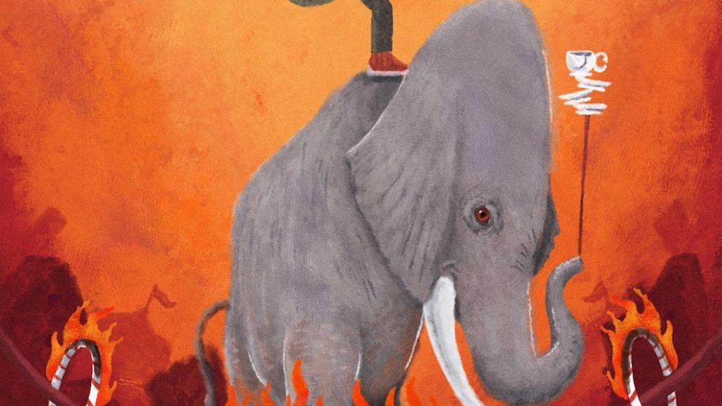 Mick Jenkins the circus album artwork